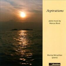 Aspirations: Piano Music By Marcus Blunt, New Music