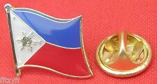 Philippines Filipino Country Flag Lapel Hat Cap Tie Pin Badge Republic Brooch