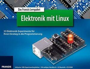 "Franzis Lernpaket Elektronik mit Linux ""Lagerabverkauf"""
