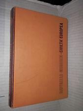 CIVILTA EUROPEA Volume Secondo Raffaello Morghen Palumbo 1979 libro scuola corso