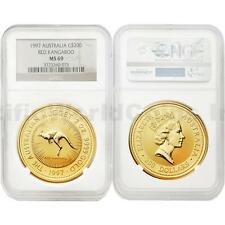 Australia 1997 Red Kangaroo $200 2 oz Gold NGC MS69