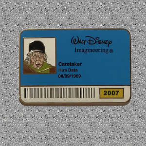 WDI ID Badge Pin - Caretaker - LE 300 - DISNEY - Haunted Mansion