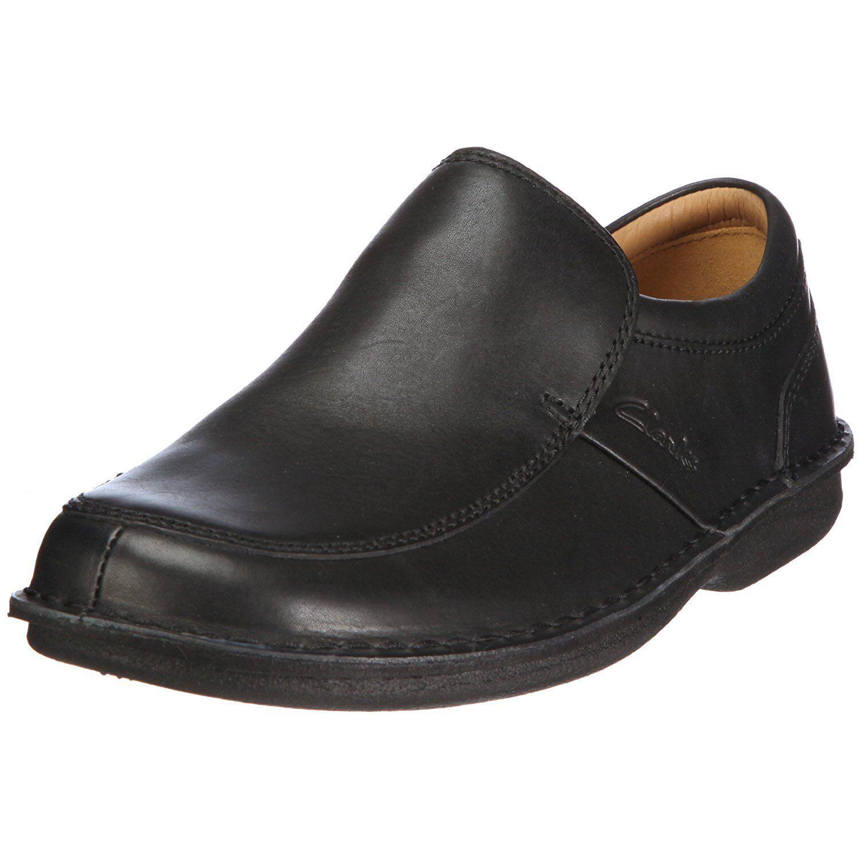 edizione limitata a caldo Clarks Sentry Slip ACTIVE AIR AIR AIR Slip-on scarpa in pelle uomo Wide-Fit UK-8.5 H 42.5 W  forniamo il meglio