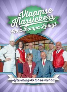 DVD VLAAMSE KLASSIEKERS - CHEZ BOMPA LAWIJT  AFLEVERING 49-56  (NIEUW SEALED)