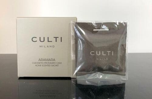 Culti Home Scented Sachet Aramara 7cm x 7cm New in Box