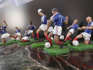 9-figurines-equipe-de-France-football-coupe-du-monde-1998