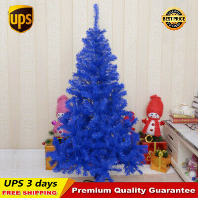 6 7 8 FT Purple Christmas Artificial Tree Undecorated Festival Holiday