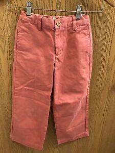 Vineyard-Vines-Boys-Size-5-Salmon-Chino-Adjustable-Waist-Dress-Pants