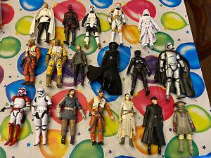Star Wars Black Series 6 Inch Loose Figures Lot