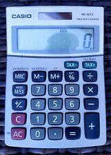 New Casio Twin Pack Compact  Desk Calculator MS-88ECO FREE P/&P