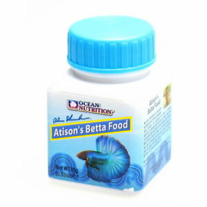 Ocean nutrition atison 39 s betta food 15g fresh high quality for Betta fish pellets