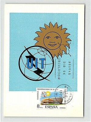 Motive Spain Mk 1973 Uit Maximumkarte Carte Maximum Card Mc Cm D9452 100% Hochwertige Materialien Briefmarken