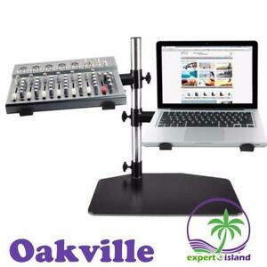 Pyle PLPTS45 Laptop, Mixer & Studio Equipment Stand Holder Tabletop Mount Canada Preview