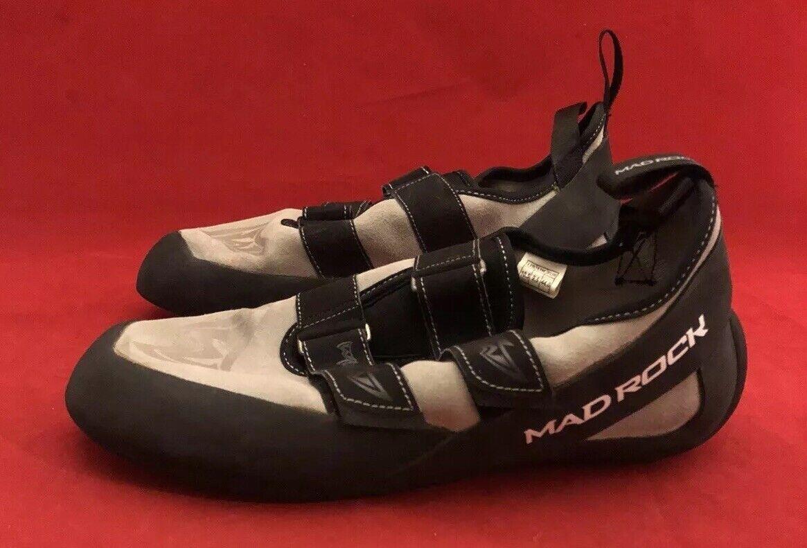 Mad Rock California Climbing Shoe Unisex Black//Orange Size3.5 Science Friction 3