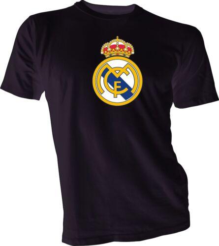 Real Madrid de Espana Spain Futbol Soccer T-SHIRT Camiseta NEW Ronaldo Rodriguez