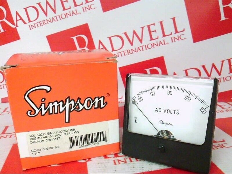 SIMPSON 1357-10220   135710220 (USED TESTED CLEANED)