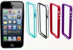 Iphone 5S Carcasa con Paragolpes - Calidad Premium con Metal Botones