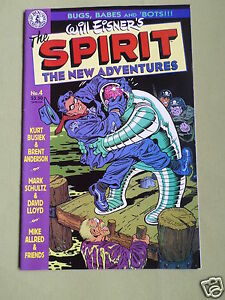 THE SPIRIT - THE NEW ADVENTURES - KITCHEN SINK COMIC - WILL EISNER ...