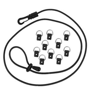 Kayak-Canoe-D-Ring-Outfitting-Paddle-Leash-Bungee-Cord-Rod-Holder-Rigging