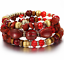 Boho-Multilayer-Natural-Stone-Bead-Tassel-Pendant-Chain-Bracelet-Charm-Women-Set thumbnail 29