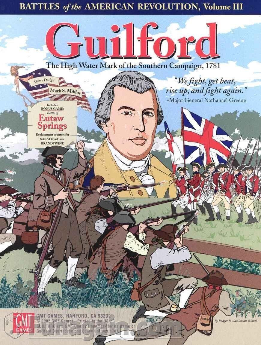 Guilford The Alto Acqua Mark Of The  Southern Campagna 1781 - Gmt giocos  consegna lampo
