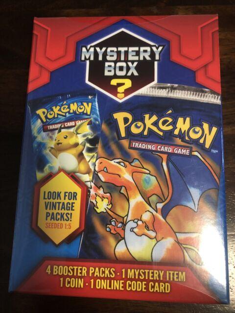 2020 Pokémon 4 Booster Packs, Coin And Bonus! Look for vintage Packs!