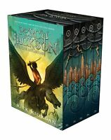 Percy Jackson And The Olympians Hardcover Boxed Set Ping