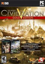 Sid Meier's Civilization V: Gold Edition (PC, 2013)