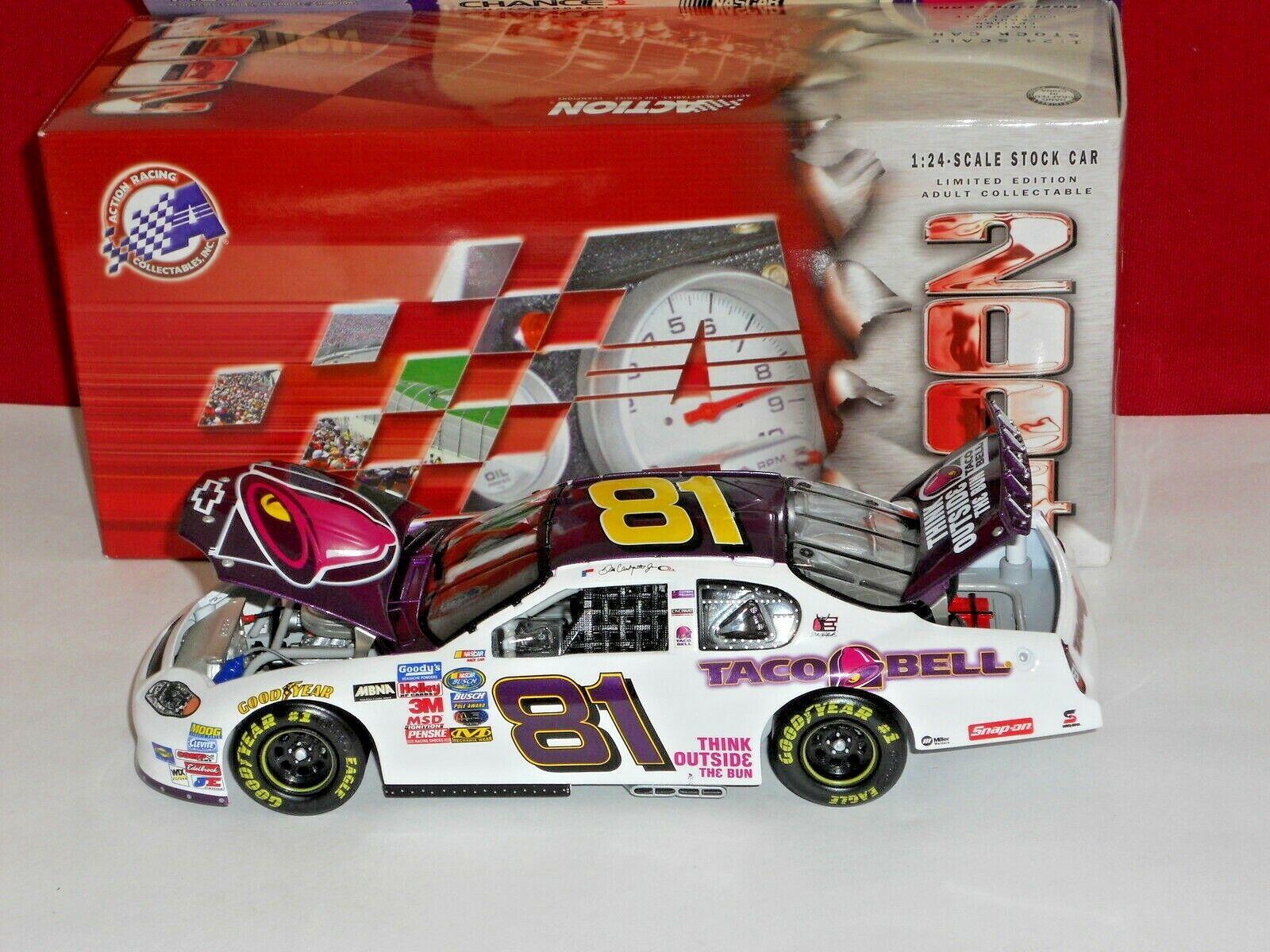 hasta un 50% de descuento Dale Dale Dale Earnhardt Jr Acción 2004   81 púrpura y blancoo Taco Bell Monte Cochelo  Nuevos productos de artículos novedosos.
