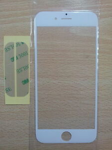Cristal-de-Pantalla-Digitalizador-Blanco-para-Apple-Iphone-6-4-7-034-Adhesivo