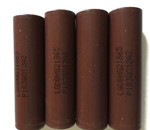 4-x-LG-HG2-18650-Li-Ionen-Akku-3-7V-3000mAh-20A-z-B-f-e-Zigaretten