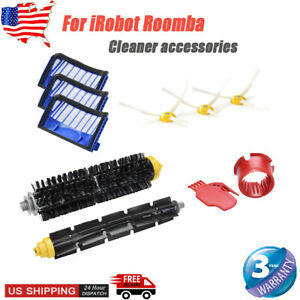 Details about Filters&Brush Kit For iRobot Roomba Series 600 610 620 630  650 690 Replacement