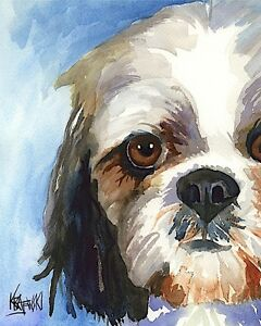 Poster Mom Wall Art 11x14 Picture Schnoodle Art Print from PaintingGifts