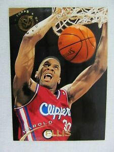 Harold Ellis Los Angeles Clippers 1995 Topps Basketball Card Number 241 Ebay