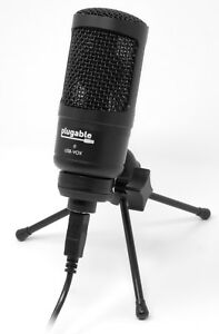 Plugable-Performance-Cardioid-Condenser-USB-Microphone-for-Windows-Mac-amp-Linux