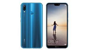 HUAWEI-P20-LITE-blue-5-8-034-4GB-RAM-64GB-ROM-BRAND-pellicola-vetro-FODERO