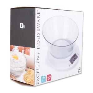 Balance balance de cuisine balance 2 litres avec bol design élégant-afficher le titre d`origine SmHNr2df-07192038-679492011