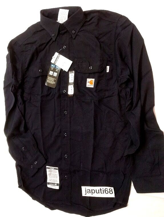 Carhartt FR Flame Resistant Long Sleeve Twill Work Shirt [B4-167]