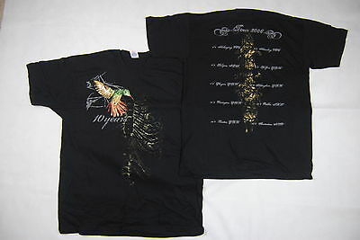 10 Years The Autumn Effect Tour 2006 T Shirt New Official Division Wolves Metal Aromatischer Geschmack