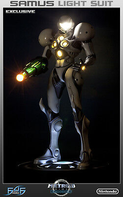 Light Suit Samus Exclusive 1/4 Statue First 4 Figures Pre-sale! Only 750 Made!