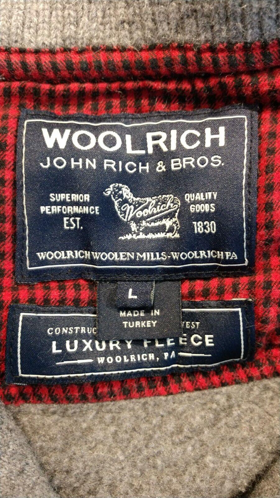 Vintage Woolrich John Rich & Bros. Wool Jacket Me… - image 3