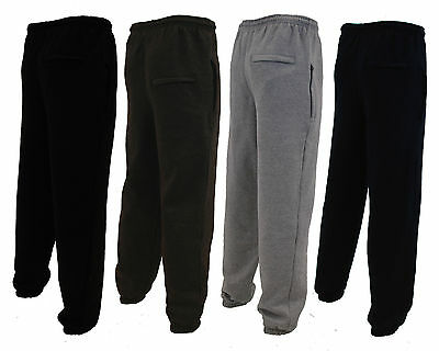 MENS JOGGING TRACKSUIT BOTTOMS FLEECE JOGGERS TROUSERS PANTS SIZE S – 6XL
