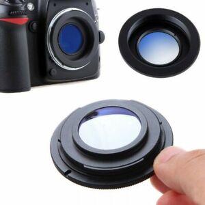 M42-Objektiv-zu-Nikon-Kamera-F-Mount-Adapter-Ring-Glass-Infinity-Focus-UK