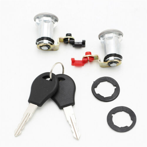 Door Lock Set W//Key Left and Right for Nissan Pickup 80600-01G25 80601-01G25