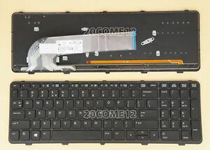 New For HP Probook 450 G2 455 G2 470 G2 keyboard Frame Spanish Teclado