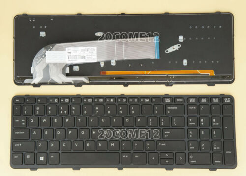 NEW for HP PROBOOK 450 G2 455 G2 470 G2 KEYBOARD BACKLIT Frame US