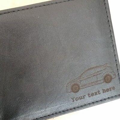 mercancía Regalo Presente mk1 mk2 mk3 Ford Capri grabado Cartera de Cuero