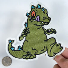 1//6Pcs Assorted Dinosaur Dragon Embroidered Applique Iron On Sew On Patch Decor