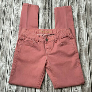 America Rag Low Rise Dusty Rose Pink Skinny Jeans, Size 1-R, 5-Pockets