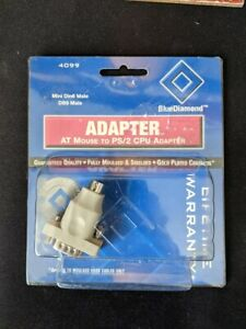 *New* Serial 9 Pin Male to 6 Pin PS2 Male Adapter